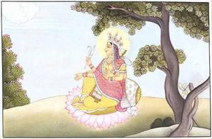 Le forme divine al femminile nell'induismo classico Image010